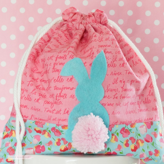 Easter i made my own drawstring bags i posted the one above a few days ago i had an enormous amount of requests for a tutorial so i made another one negle Images
